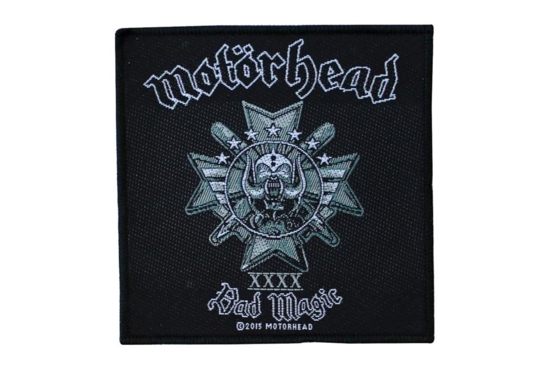Official Band Merch | Motorhead - Bad Magic Woven Patch
