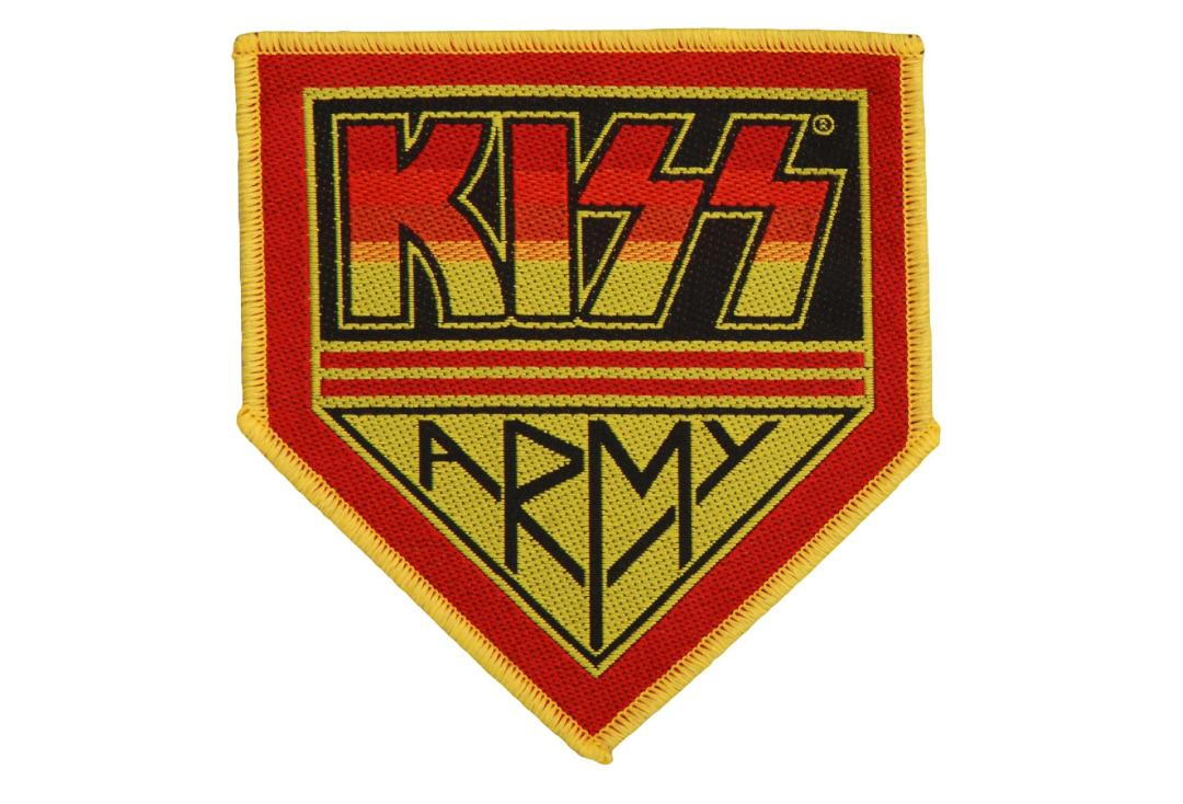 Official Band Merch | Kiss - Army Badge Woven Patch