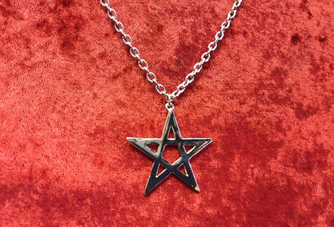 Void Clothing | Large Plain Pentagram Pendant