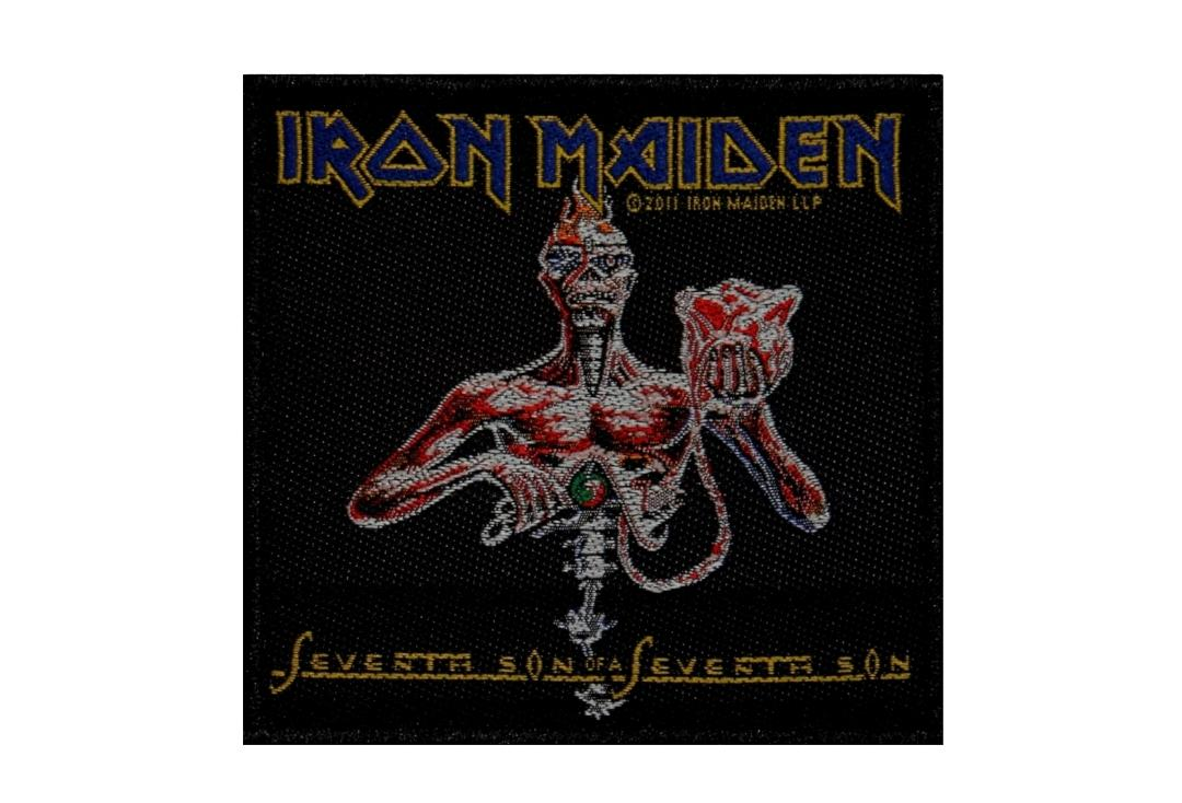 Official Band Merch | Iron Maiden - Seventh Son Of A Seventh Son Woven Patch