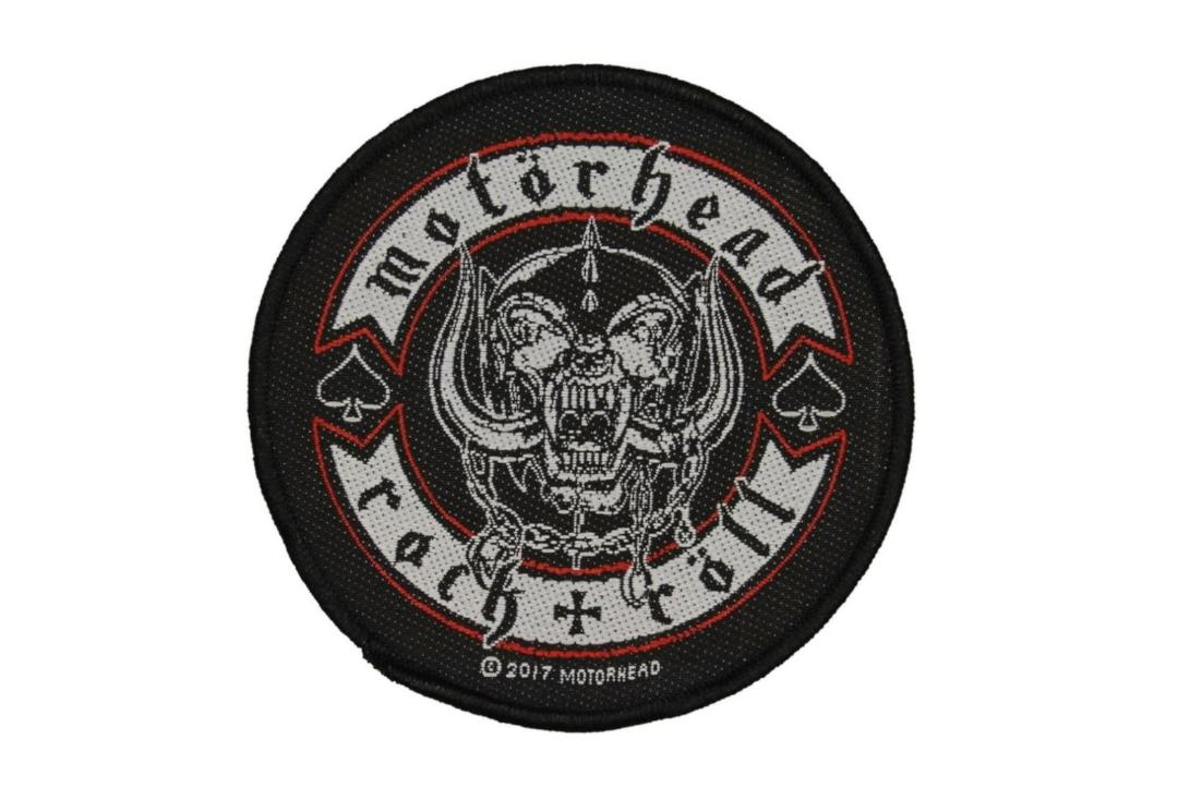 Official Band Merch | Motorhead - Rock & Roll Woven Patch