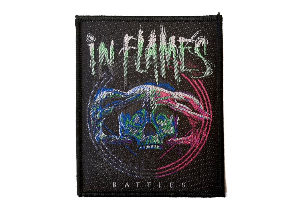 Official Band Merch | In Flames - Battles Woven Patch