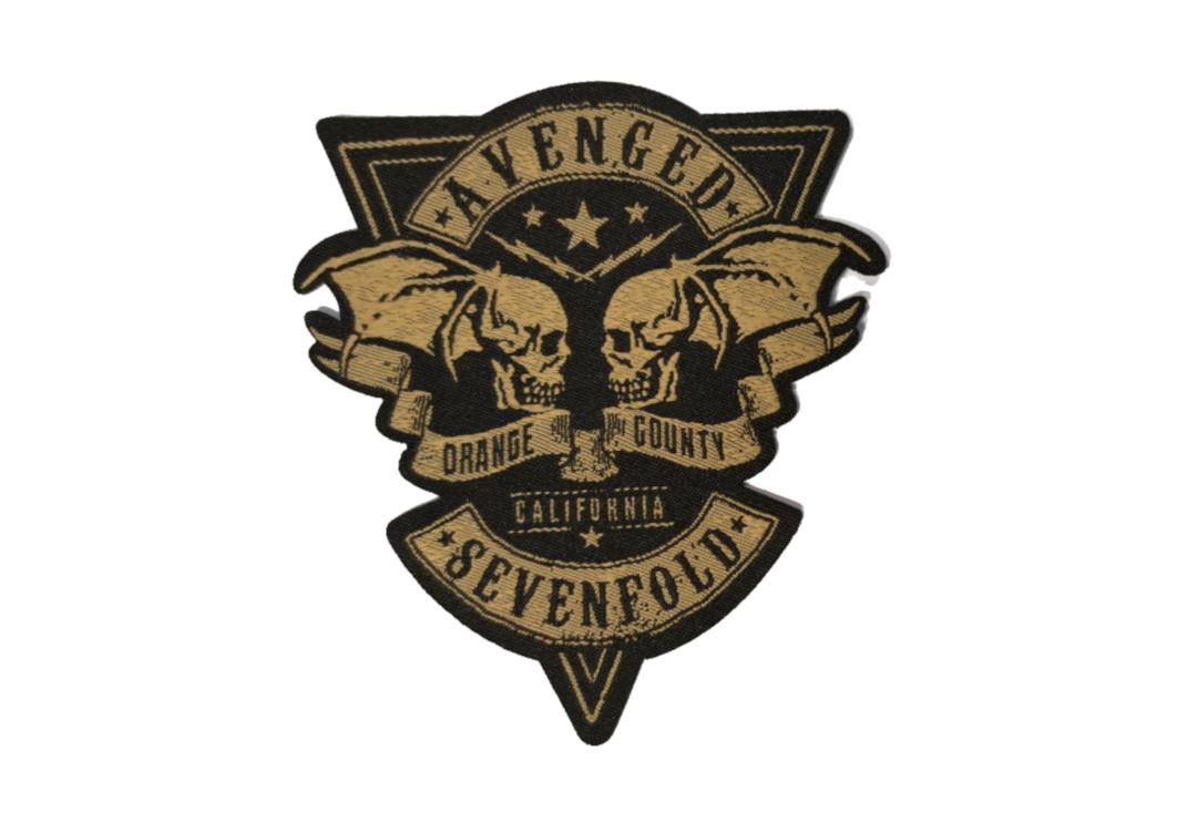 Official Band Merch | Avenged Sevenfold - Orange County Woven Patch
