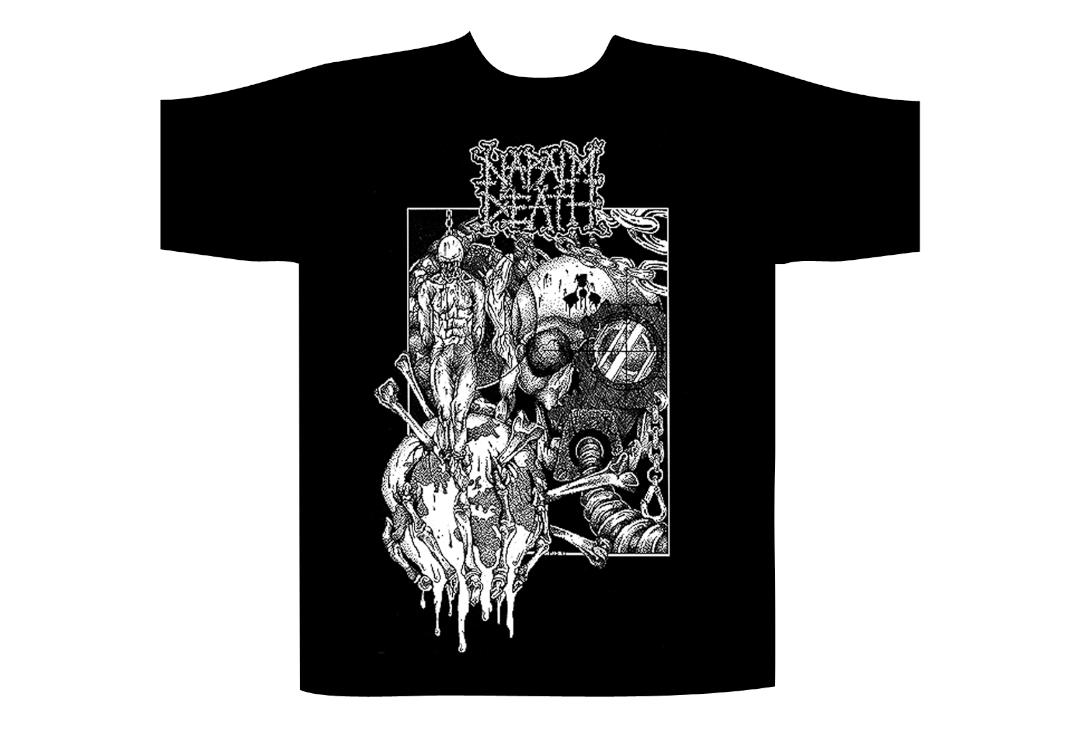Official Band Merch | Napalm Death - Harmony Corruption Men's Short Sleeve T-Shirt
