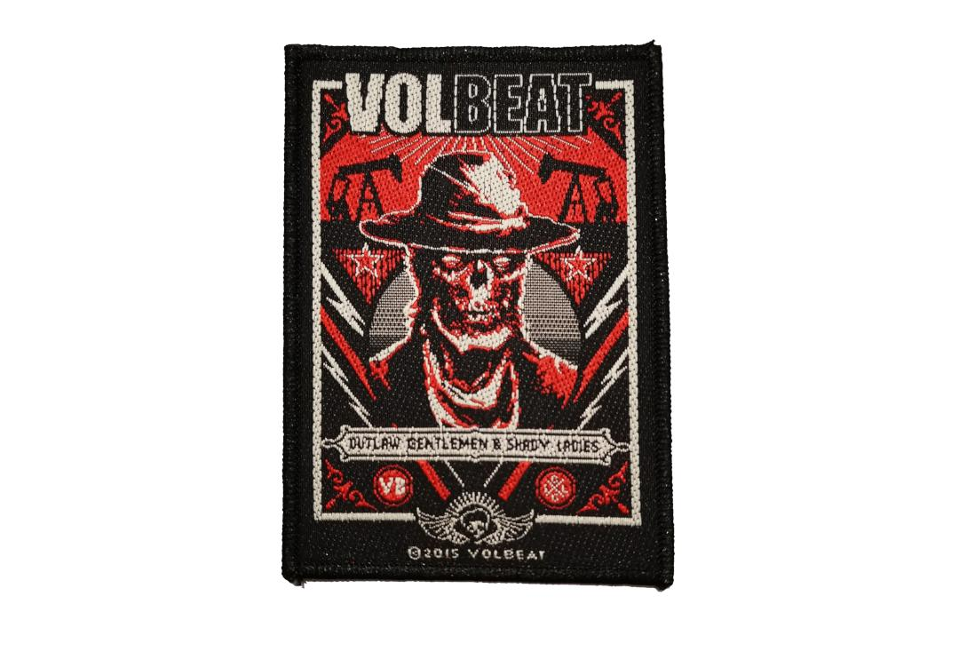 Official Band Merch | Volbeat - Ghoul Frame Woven Patch