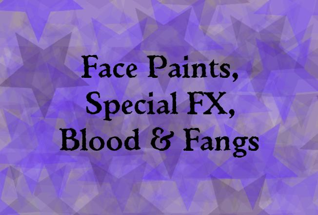 Face Paints & Special FX