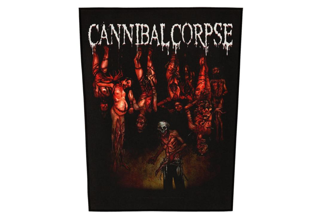 Official Band Merch | Cannibal Corpse - Torture Printed Back Patch