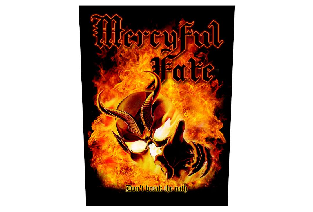 Official Band Merch | Mercyful Fate - Don't Break The Oath Printed Back Patch