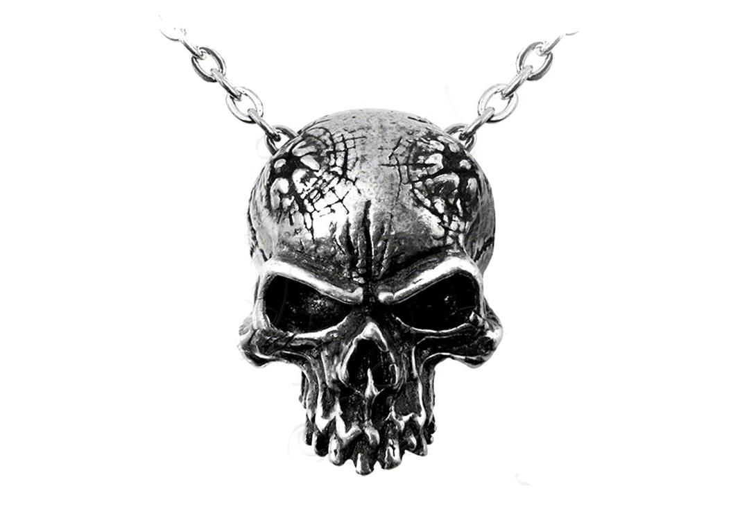 Alchemy Gothic | Birth Of A Demon Pendant - Close Up