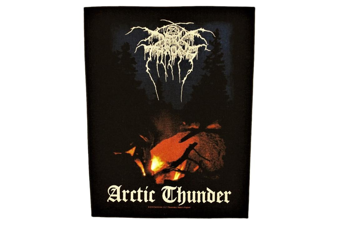 Official Band Merch | Darkthrone - Arctic Thunder Printed Back Patch