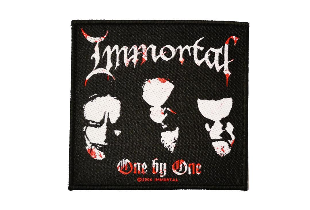 Official Band Merch | Immortal - One By One Woven Patch