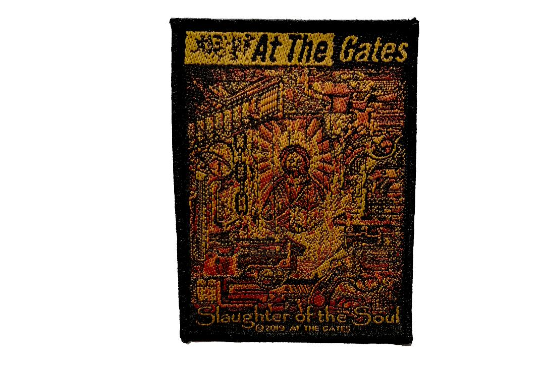Official Band Merch | At The Gates - Slaughter Of The Soul Woven Patch