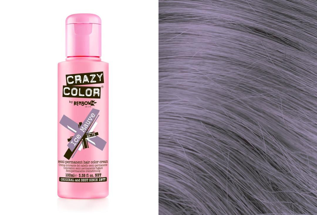 Renbow | Crazy Color Semi-Permanent Hair Colour (075 Ice Mauve)