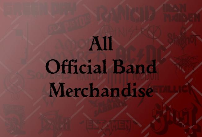 All Official Merch