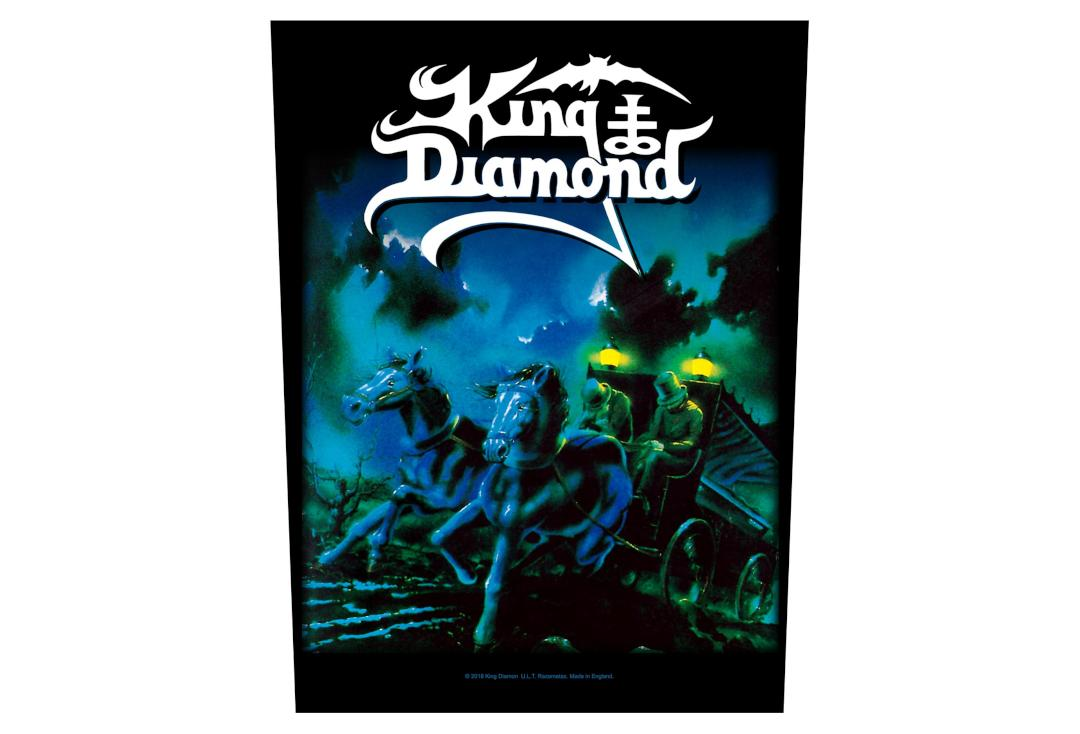 Official Band Merch | King Diamond - Abigail Printed Back Patch