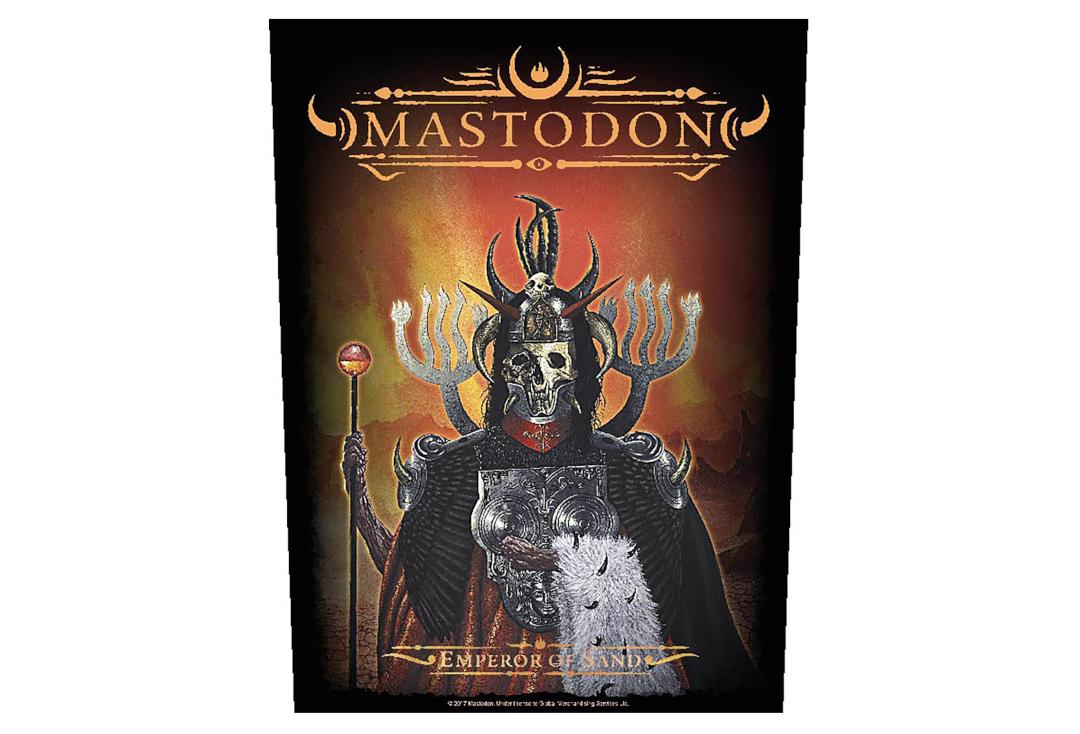 Official Band Merch | Mastodon - Emperor Of Sand Printed Back Patch