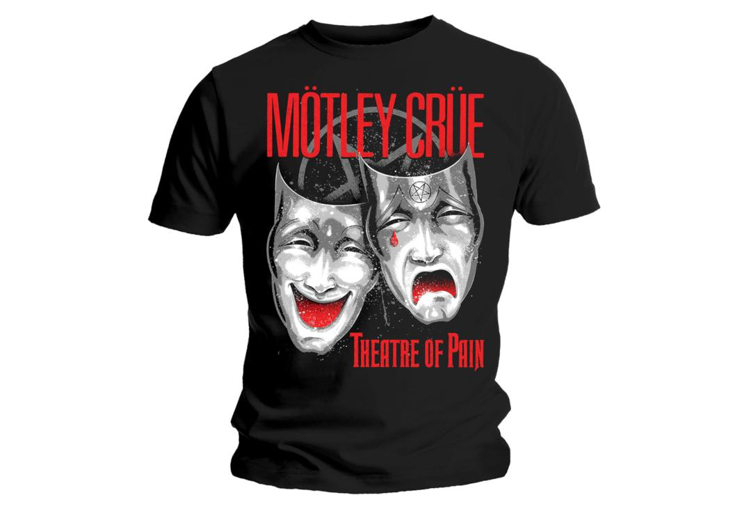 Official Band Merch | Motley Crue - Theatre Of Pain Cry Men's Short Sleeve T-Shirt