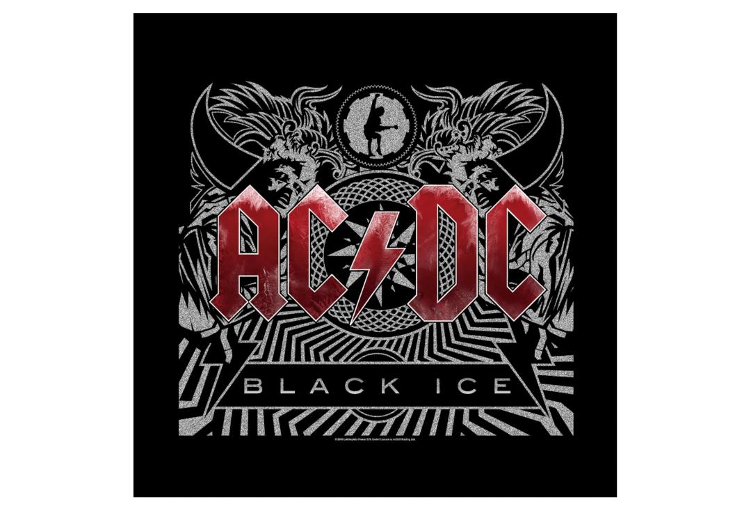 Official Band Merch | AC/DC - Black Ice Official Bandana