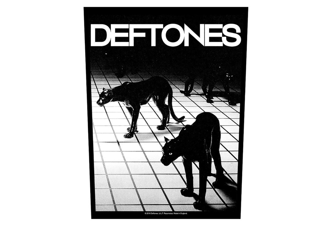Official Band Merch | Deftones - Panther Printed Back Patch