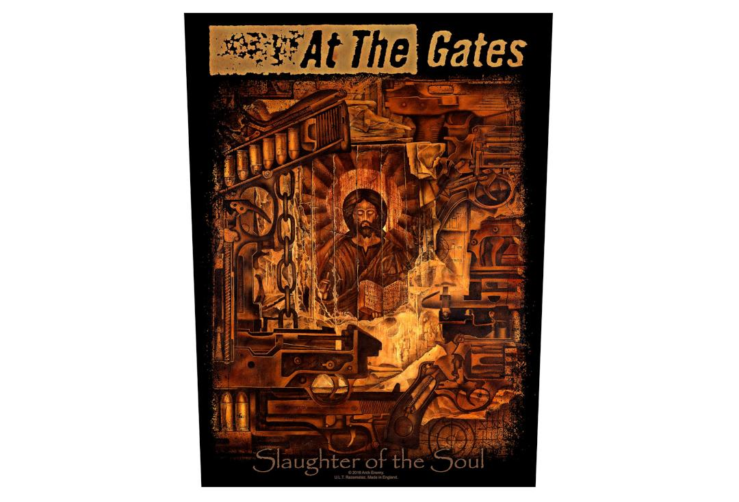 Official Band Merch | At The Gates - Slaughter Of The Soul Printed Back Patch