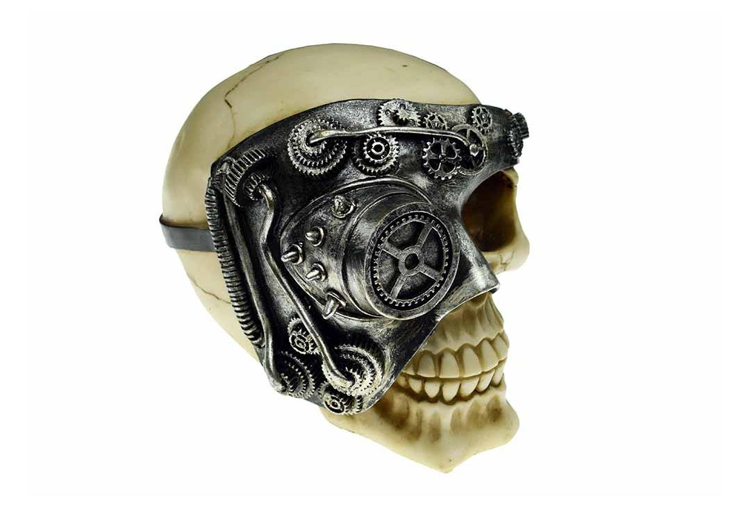 Void Clothing | Steampunk Eye Skull Decoration