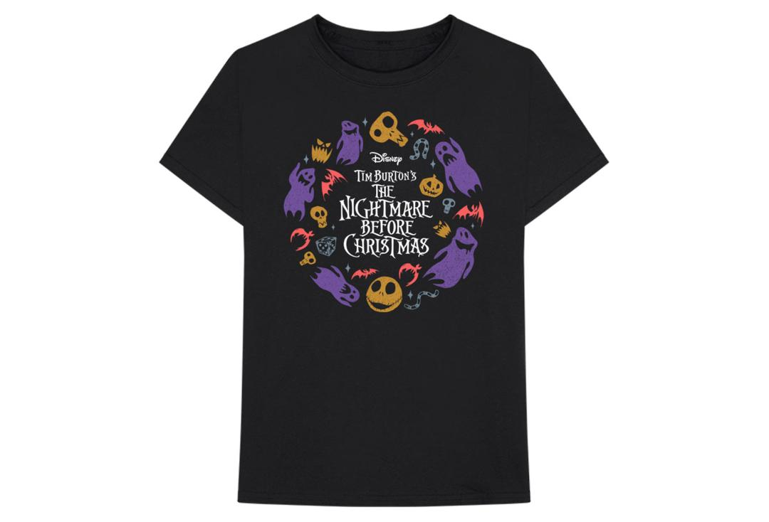 Official Band Merch | The Nightmare Before Christmas Wreath Tee