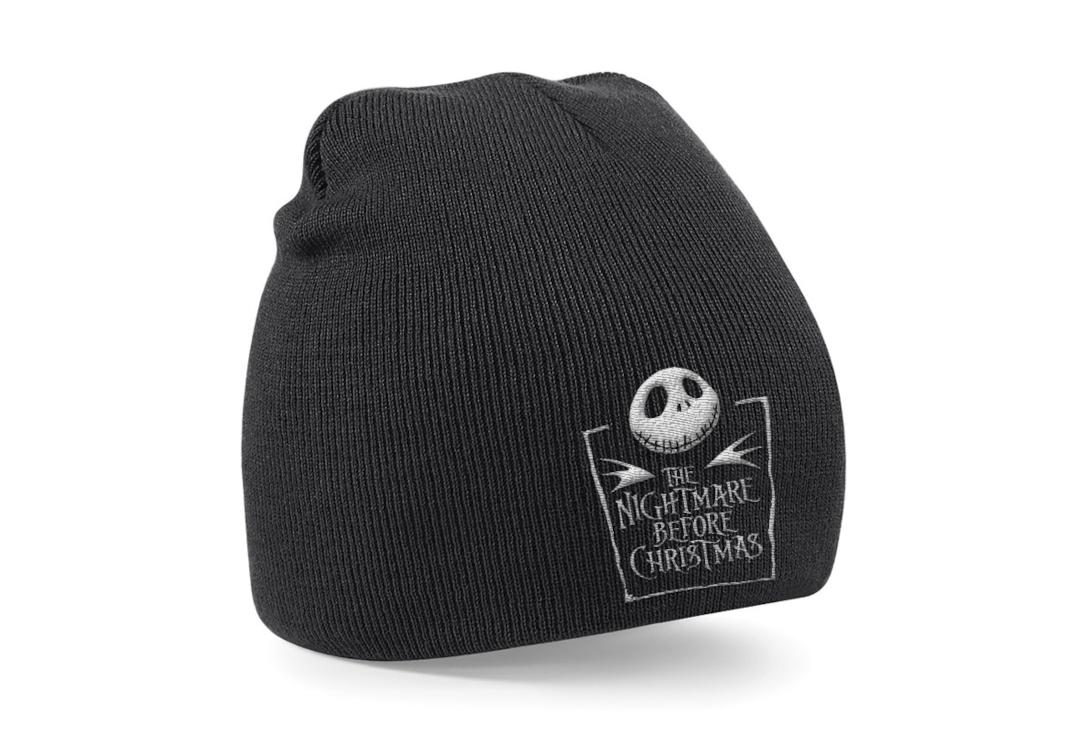 Official Film & TV Merch | The Nightmare Before Christmas Logo Knitted Beanie