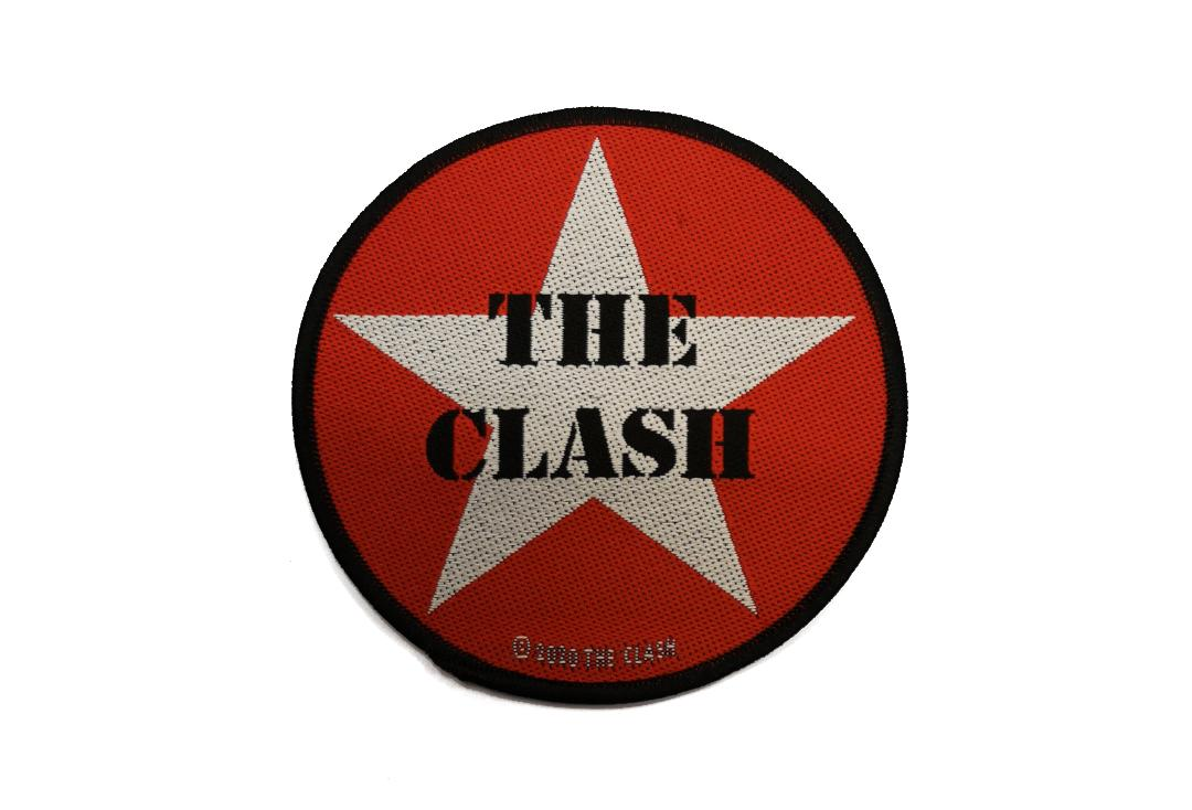 Official Band Merch | The Clash - Military Logo Woven Patch
