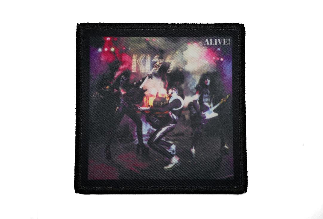 Official Band Merch | Kiss - Alive! Album Cover Woven Patch