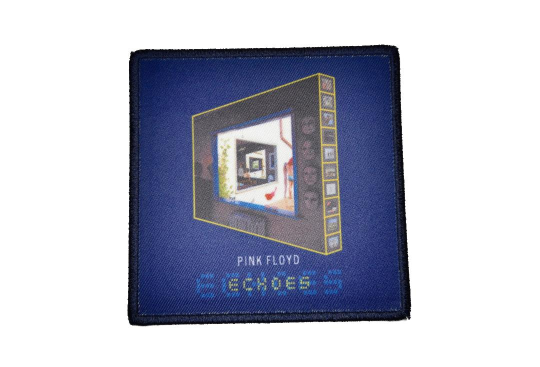 Official Band Merch | Pink Floyd - Echoes Album Cover Woven Patch