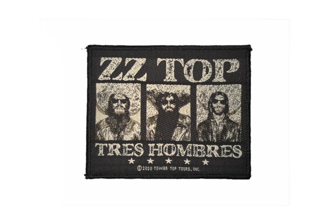 Official Band Merch | ZZ Top - Tres Hombres Woven Patch
