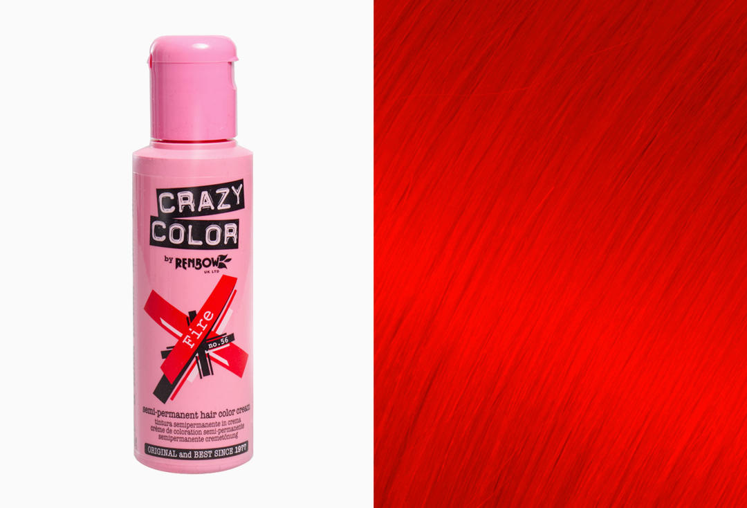 Renbow | Crazy Color Semi-Permanent Hair Colour (056 Fire)