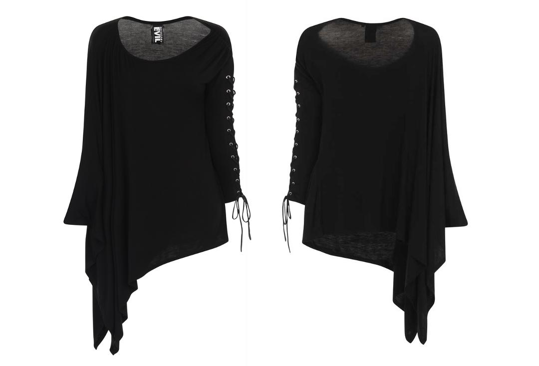 Necessary Evil | Nyx Asymmetric Top (Black)