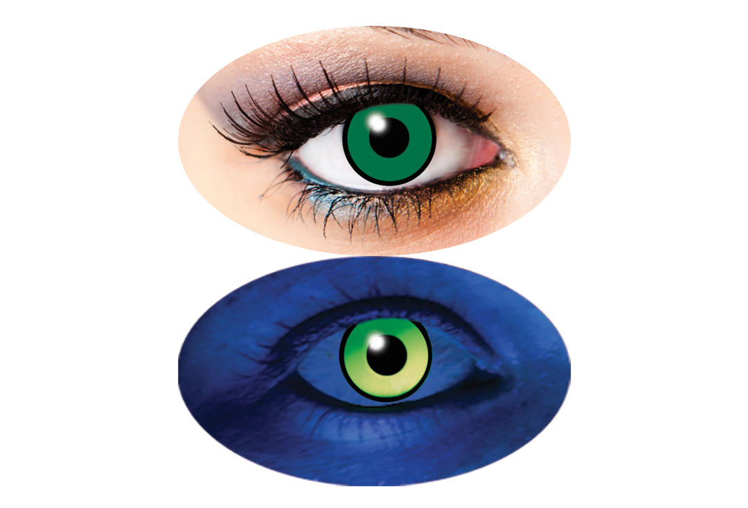 Innovision | UV Green 1 Day Contact Lenses