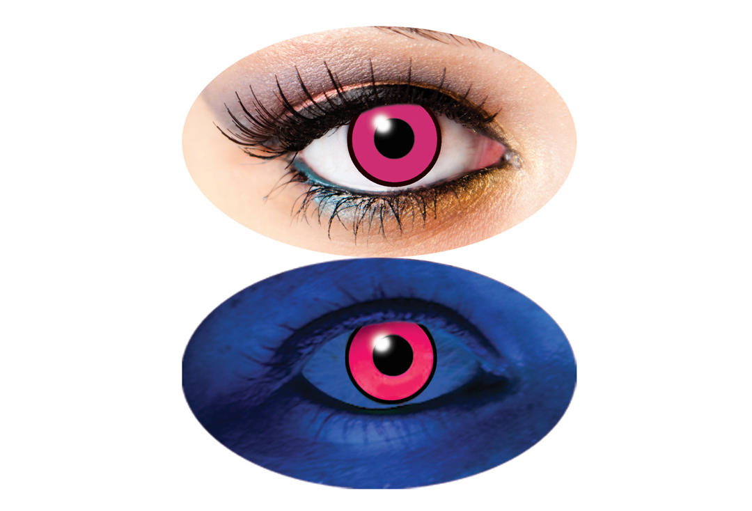 Innovision | UV Pink 1 Day Contact Lenses