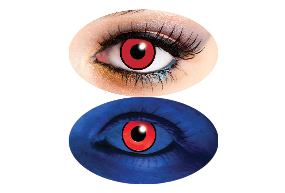 Innovision | UV Red 90 Day Contact Lenses