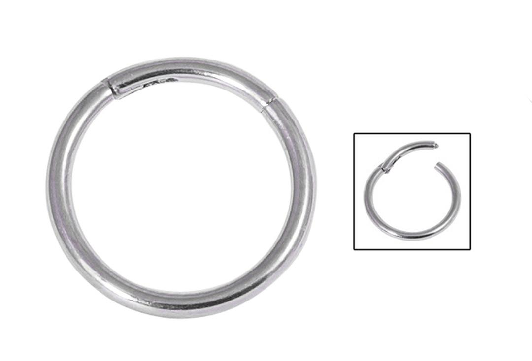 Body Jewellery | Surgical Steel Hinged Segment Ring - 1.2mm & 1.6mm