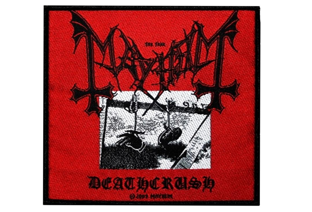 Official Band Merch | Mayhem - Deathcrush Woven Patch