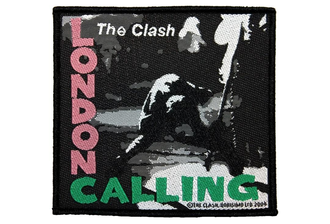 Official Band Merch | The Clash - London Calling Woven Patch
