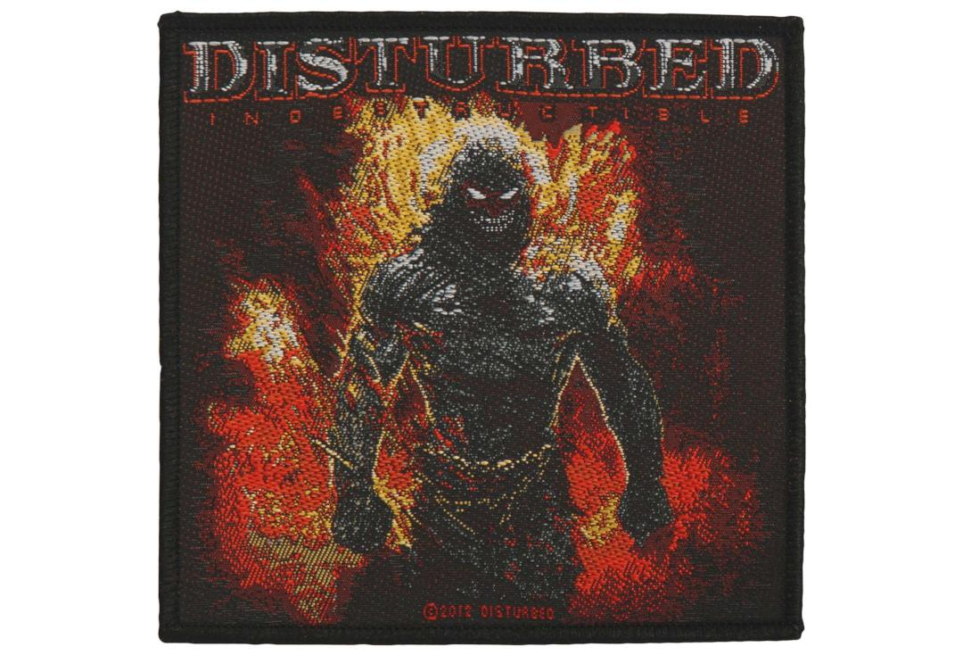 Official Band Merch | Disturbed - Indestructable Woven Patch