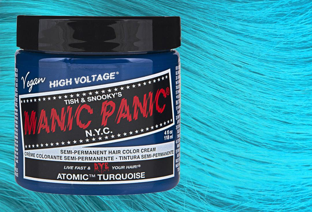 Manic Panic | Atomic Turquoise High Voltage Classic Cream Hair Colour