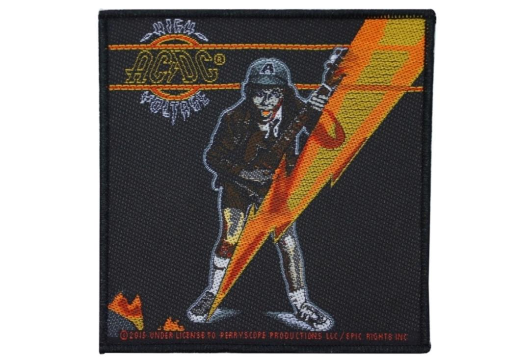 Official Band Merch | AC/DC - High Voltage Woven Patch