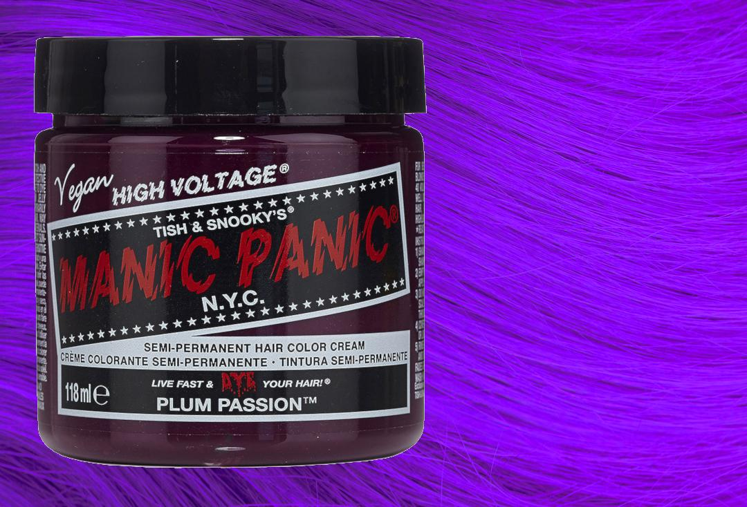 Manic Panic | Plum Passion High Voltage Classic Cream Hair Colour