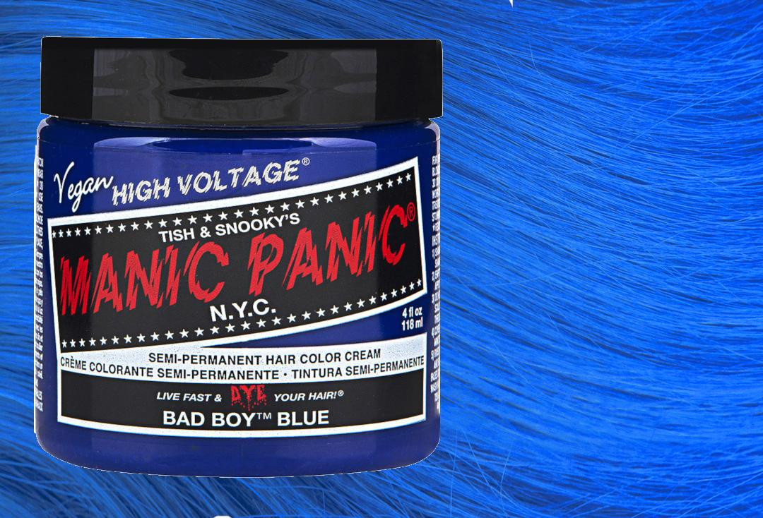 Manic Panic | Bad Boy Blue High Voltage Classic Cream Hair Colour