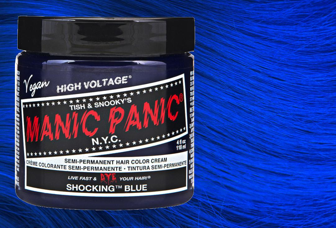 Manic Panic | Shocking Blue High Voltage Classic Cream Hair Colour
