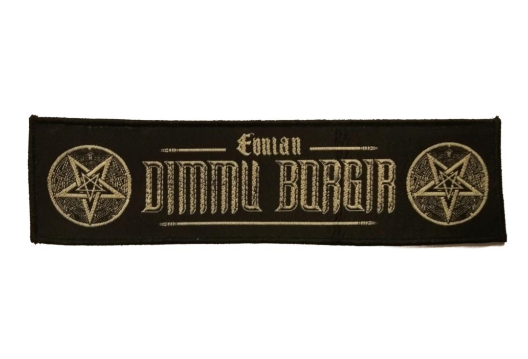 Official Band Merch | Dimmu Borgir - Eonian Super Strip Woven Patch