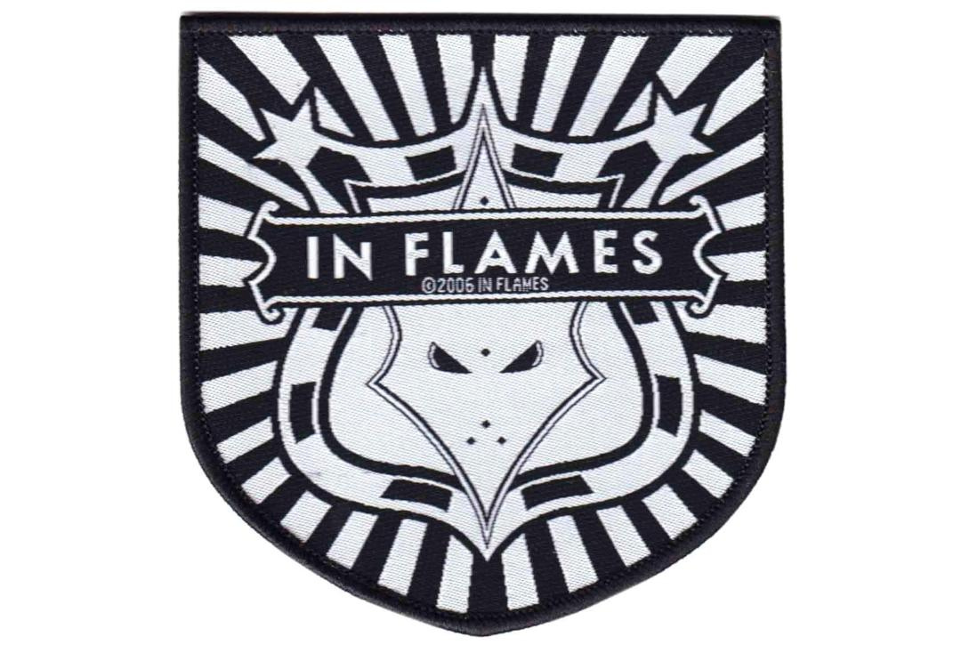 Official Band Merch | In Flames - Shield Logo Woven Patch