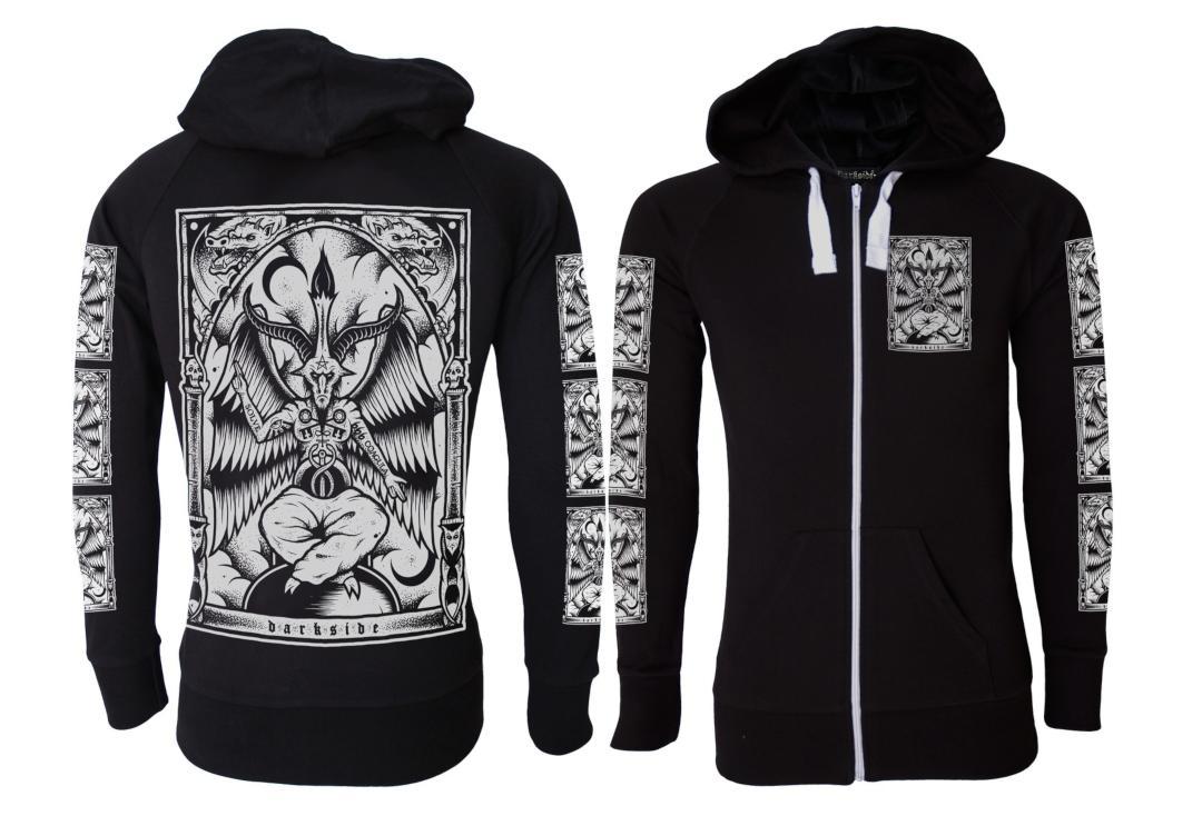 Darkside | Baphomet Lightweight Cotton Unisex Zip Hood