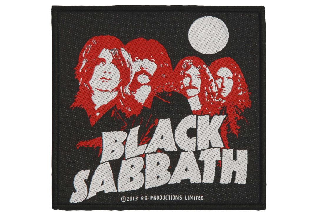 Official Band Merch | Black Sabbath - Red Portraits Woven Patch