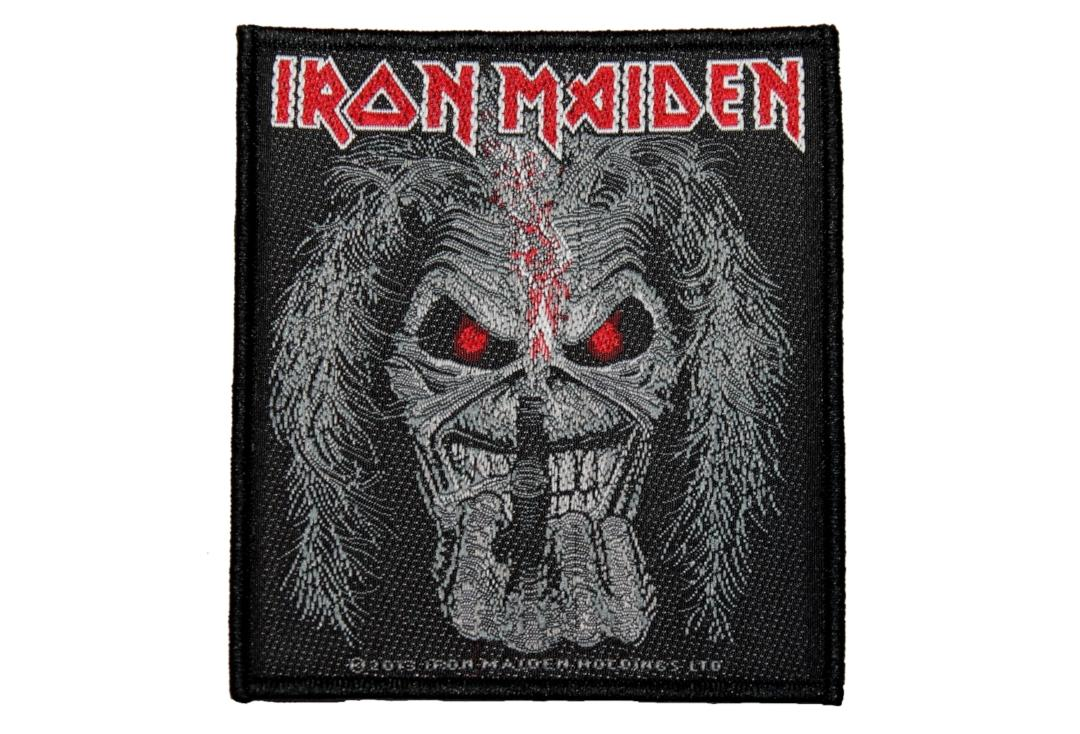 Official Band Merch | Iron Maiden - Eddie Candle Finger Woven Patch